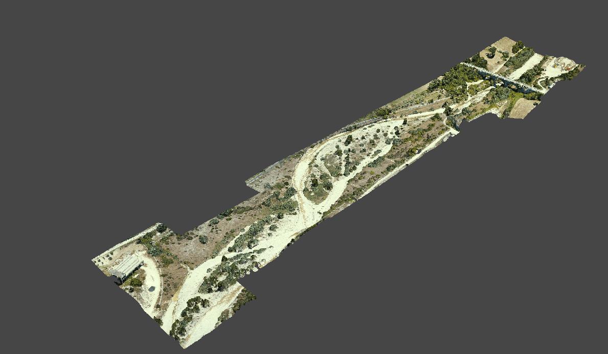 Letto del fiume, vista  4 (località Trivento)