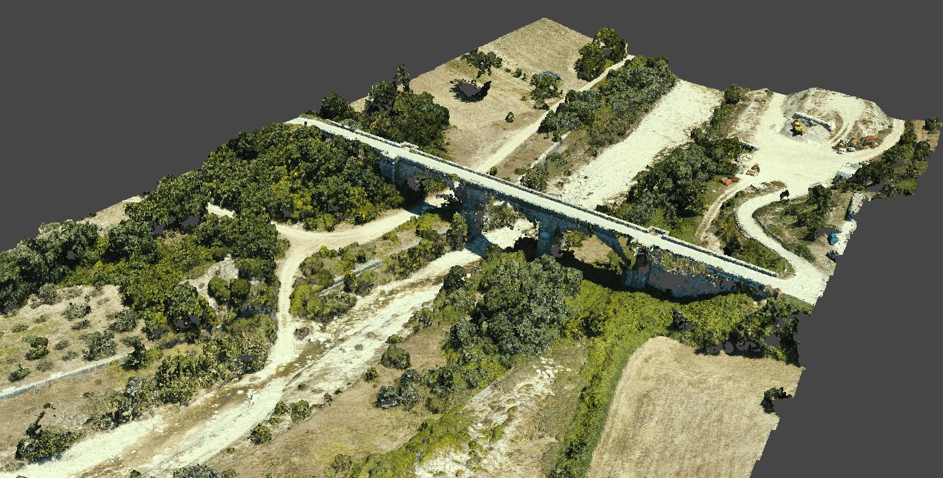 Letto del fiume, vista   3 (località Trivento)