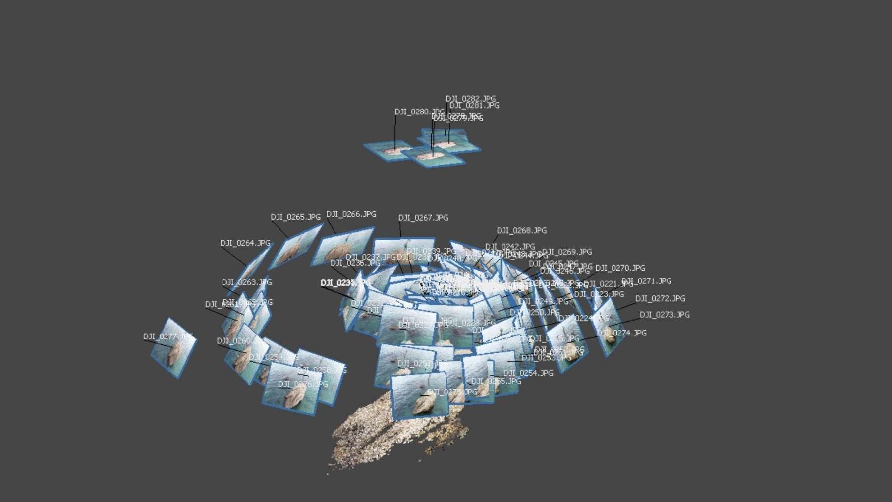 La Bagnante di Vasto Marina - ricostruzione