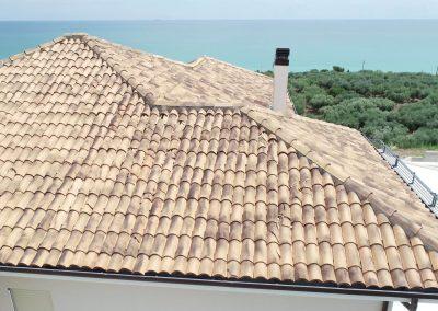 Ispezione tetto a seguito di una grandinata