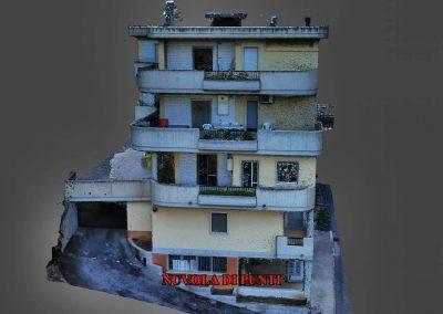 Fotogrammetria: scansione di un palazzo