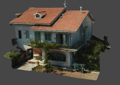 Fotogrammetria con drone: casolare in campagna (Vasto)