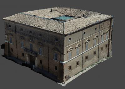 Fotogrammetria con drone su edificio storico: Palazzo Tanasso