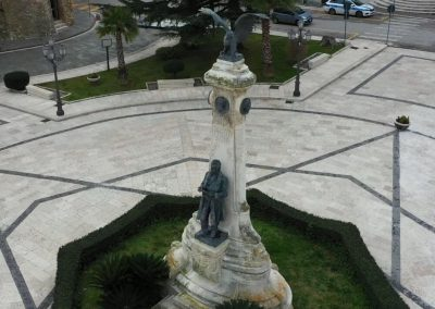 Gabriele Rossetti – scansione di un monumento con drone e stampa 3D