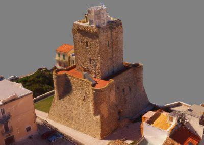Fotogrammetria con drone: Castello Svevo a Termoli