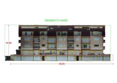 Rilievo di edifici con drone: prospetti quotati e copertura (Castel Frentano – CH)